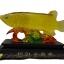 ปลาหลีฮื้อทองเล่นน้ำบนฐานคริสตัลค้าขายร่ำรวย เหลือกินเหลือใช้ thumbnail 1