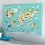 กรอบลอยแคนวาส Animal map of the world 36 x 24 นิ้ว thumbnail 2