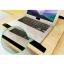 CASSA โต๊ะคอมพิวเตอร์ โต๊ะอ่านหนังสือ อเนกประสงค์ สอดใต้เตียง ปรับระดับ+ล้อเลื่อน 60X40cm thumbnail 6