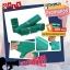(แพค 100 ซอง) สีเขียว ซองพลาสติกไปรษณีย์ ซองไปรษณย์ ซองแพคของ ซองพัสดุ ซองพลาสติกแถบกาว thumbnail 3