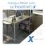โต๊ะทำงาน โต๊ะคอมพิวเตอร์ พร้อมชั้นวางหนังสือ (สีลายไม้เข้ม) ขนาด120X60cm. รุ่น FB0012-H120X60CM-YB thumbnail 2