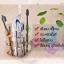 CASSA ที่ใส่แปรงสีฟัน ยาสีฟัน แสตนเลส304 ทรงดอกไม้ รุ่น 136-SUS304-F05 thumbnail 4
