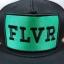 FLVR แบรนด์ Tastemakers ลายปักเขียว ฟรีไซส์ Snapback 57-60.6cm thumbnail 2