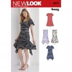 Pre-Order NewLook (6371) แพทเทิร์นตัดเสื้อผ้าสตรี