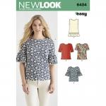 Pre-Order NewLook (6434) แพทเทิร์นตัดเสื้อผ้าสตรี