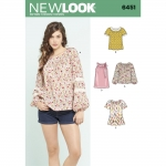 Pre-Order NewLook (6451) แพทเทิร์นตัดเสื้อผ้าสตรี