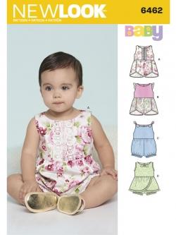 Pre-Order NewLook (6462) แพทเทิร์นตัดเสื้อผ้าเด็กหญิง
