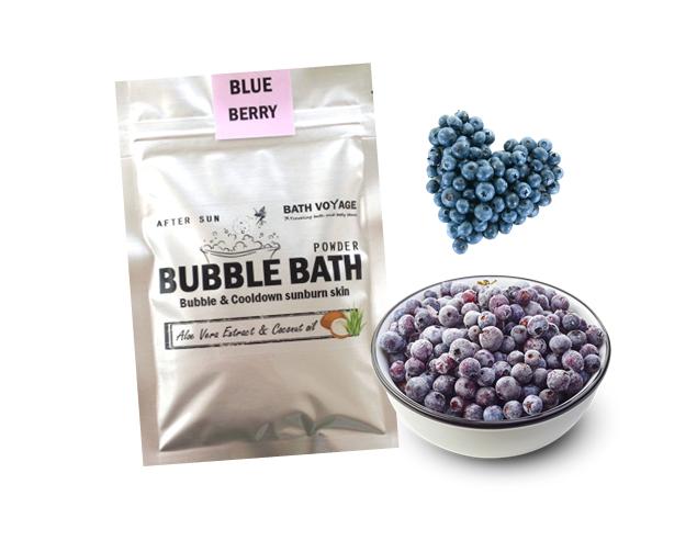 Blueberry After sun bubble bath powder