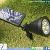 โคมไฟปักสนาม สปอตไลท์ โซล่าเซลล์ รุ่น Super Bright 4 LED