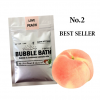 Peach After sun Bubble bath powder