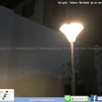 ไฟสนาม โซลาร์เซลล์ รุ่น 60 LED (ขาปัก/ฐานตั้งพื้น)