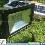 ไฟสปอตไลท์ โซลาร์เซลล์ รุ่น Green 10w พร้อม Remote Control