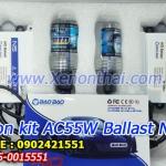 xenon kit H3 AC55W Slim Balllast N5