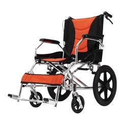เก้าอี้รถเข็นผู้ป่วยพับได้ Wheelchair ล้อเล็ก