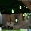 โคมไฟกระพริบ โซล่าเซลล์ รุ่น พรีเมียมใหญ่ หลากสี thumbnail 5