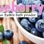 Blueberry After sun bubble bath powder thumbnail 5