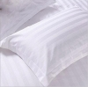 ปลอกหมอมีปีกสีขาว ลายริ้ว ขนาดมาตรฐาน